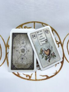 Lenormandkarten kaufen antike Lenormandkarten Dondorf Lenormandlarten