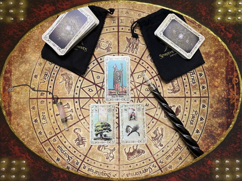 Kartenlegen Lenormandkarten Tarotkarten Orakel Spirituelle Beratung