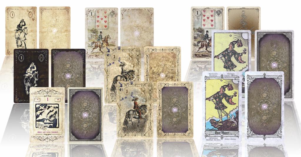 Lenormandkarten Tarotkarten Tarot Lenormand Onlineshop Häuserschablonen